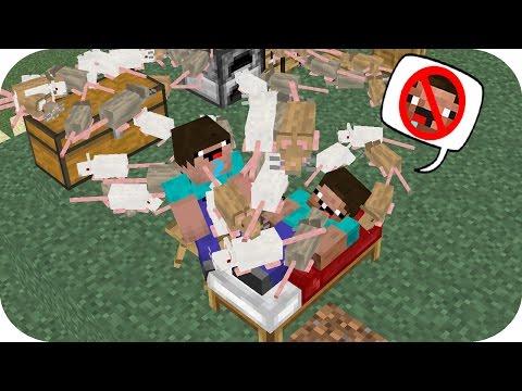 NOOB VS CASA 100% DE RATAS MINECRAFT TROLL + ROLEPLAY - Видео из Майнкрафт (Minecraft)