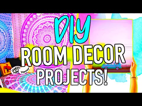DIY room decor project ideas you NEED to try!