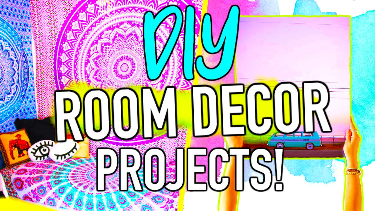 Diy Bedroom Decor Projects diy room decor project ideas you need to try! - youtube