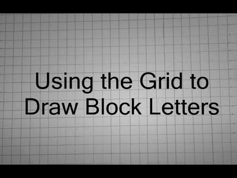 How To Make Block Letters