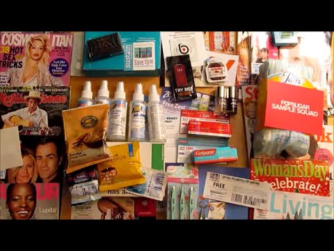 How to get free samples and freebies in the mail! Freebie sites, Smiley 360, Influenster and more!