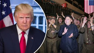 North Korea v USA: How could President Trump start a nuclear war? - TomoNews