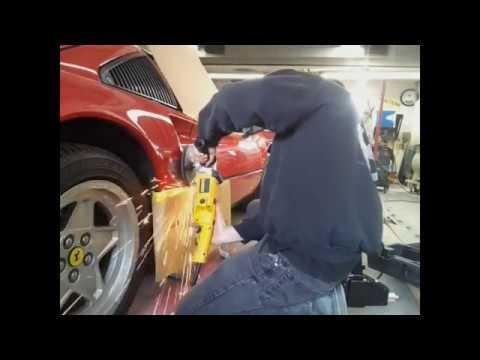 Ferrari auto body dent repair