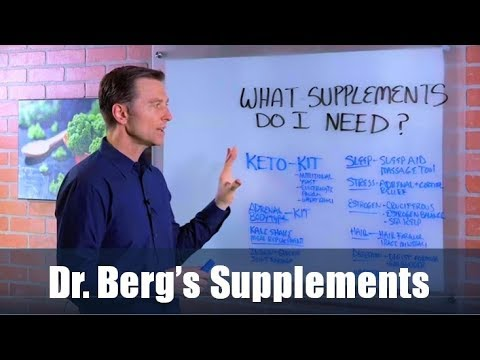 Dr. Berg's Supplements