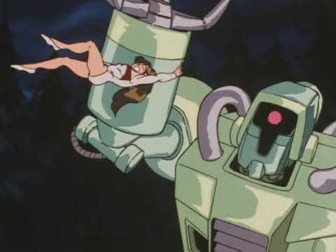 Download Superstrong woman beats up a giant robot