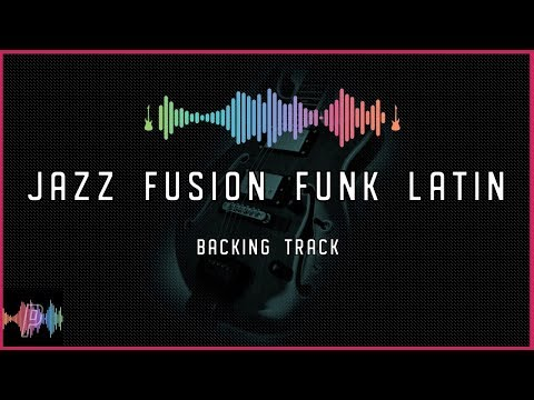 Jazz Fusion Funk Latin Guitar Backing Track in C Minor