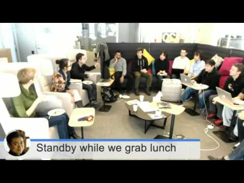 Live video of conversation at MIT Media Lab with students