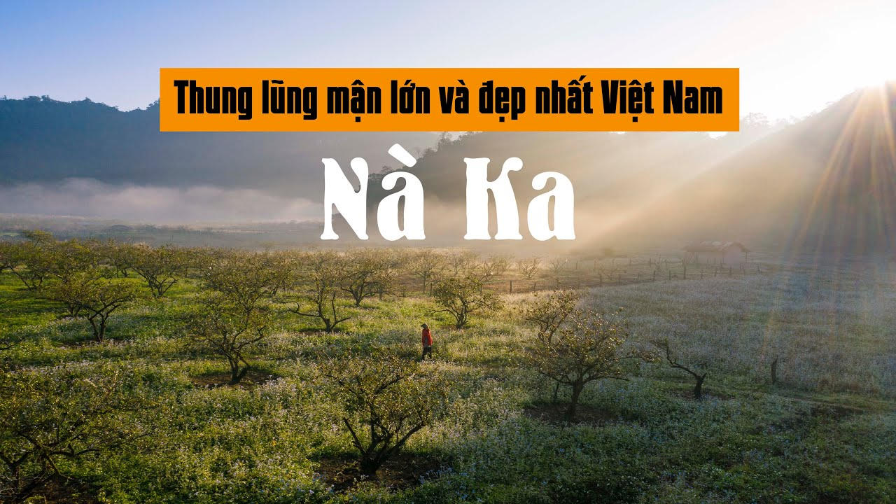 Cắm trại ở Nà Ka - Đây là thung lũng mận đẹp nhất Việt Nam mà ít người biết