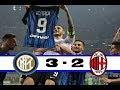 INTER 3 vs 2 AC MILAN   All Goals   Highlights HD    Serie A   15 October 2017