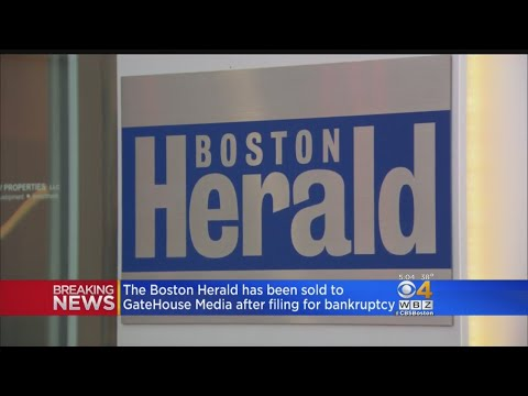 Boston Herald Files For Bankruptcy, Will Be Sold