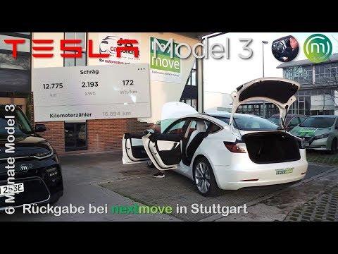 Tesla Model 3 weiß: Rückgabe bei NEXTMOVE