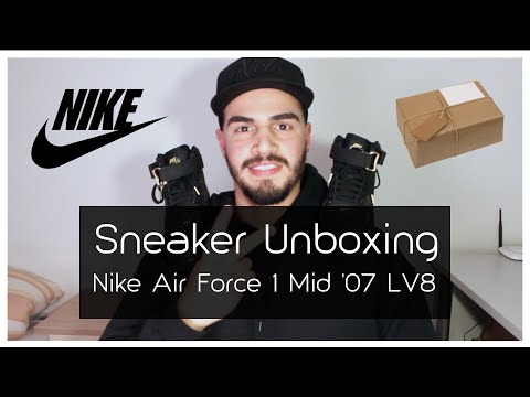 f0e728332ba Sneaker Unboxing - Nike Air Force 1 Mid  07 LV8