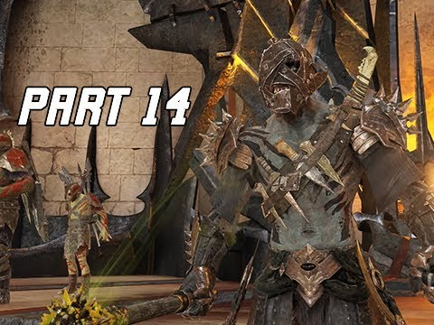 Middle-Earth Shadow Of War Walkthrough Part 14 - Cirith Ungol Fortress (Let's Play Commentary)