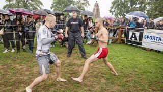 Бешеный Барсук против Тарена, Стрелка в Латвии