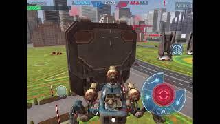 War Robots Прокачал паука!!! ПОБЕДА!!!
