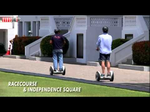 AMAZING RIDES  IN COLOMBO   RACECOURSE  & INDEPENDENCE SQUARE