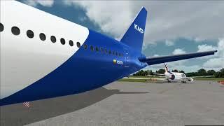 Kamilplay Boeing 777 desde SKVV.