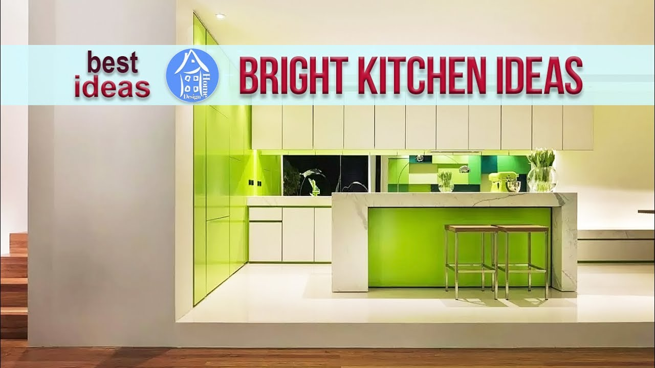 Marvelous Bright Kitchen Color Design Ideas For Large And Small Kitchens Youtube
