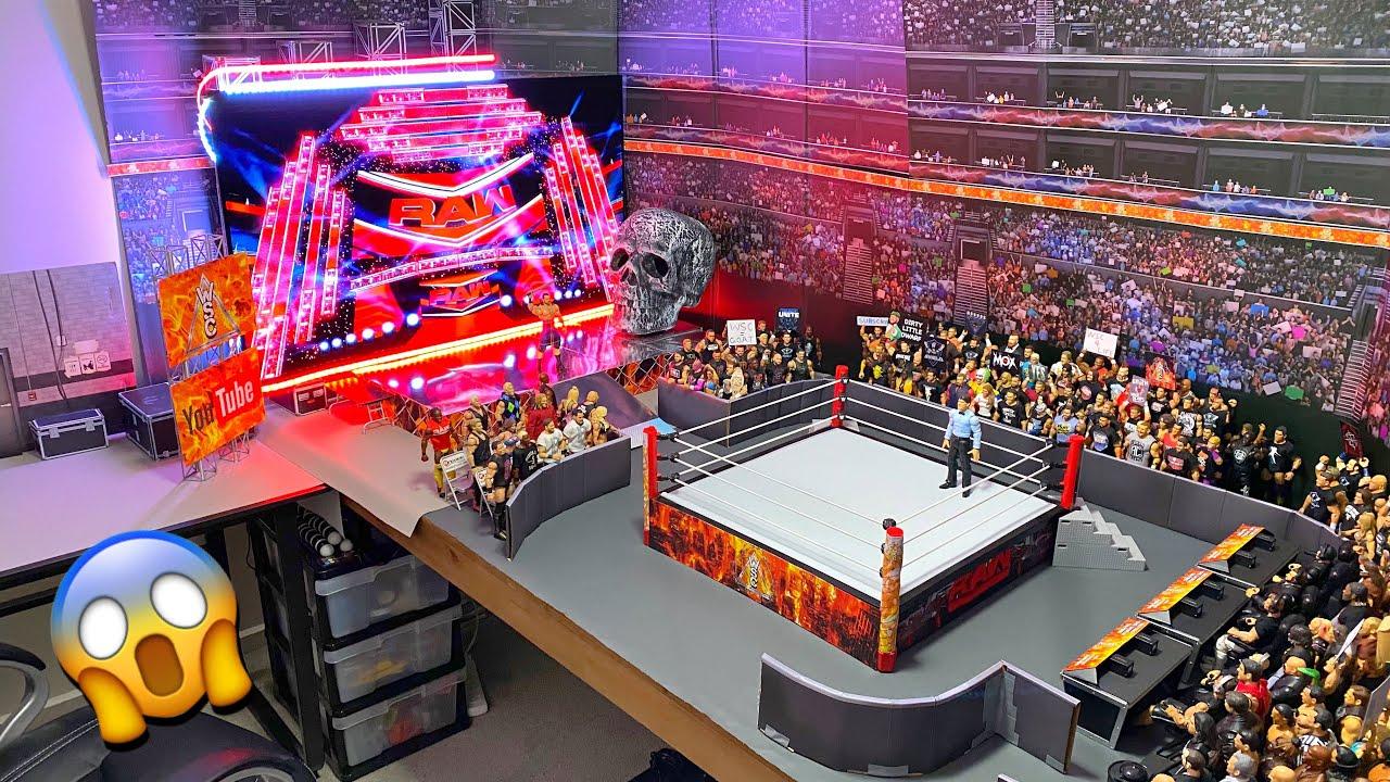 HUGE WWE FIGURE ROOM TOUR 2021!