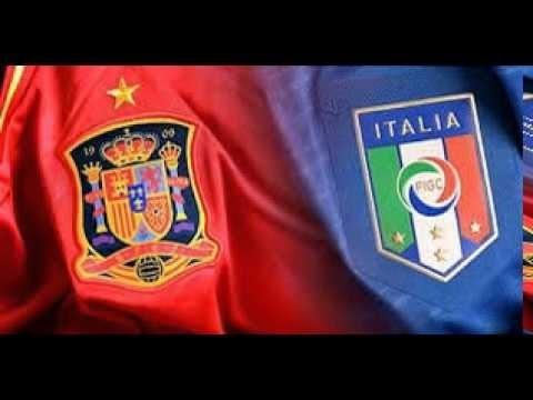 Tatical Analysis of Italy vs Spain Euro 2016 5-3-2 vs 4-3-3