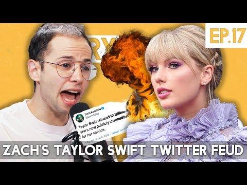 Zach's Taylor Swift Twitter Feud - The TryPod Ep. 17