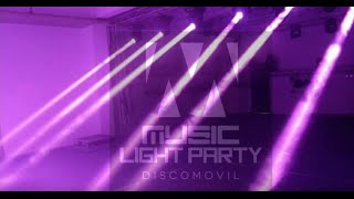 Music Light Party Discomovil ( Spot 2016 ) Audio Impac Records / Vídeo Pow Edition