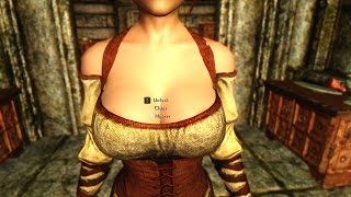 Big titties skyrim special edition mod