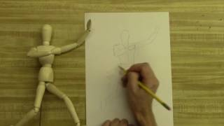 Mr. Wilson Teaches- Drawing the Human Figure Using a Mannequin