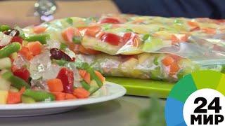 как правильно заморозить овощную смесь на зиму