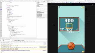 How I HACKED Basketball FRVR On Facebook To Get THE HIGHSCORE (TUTORIAL)