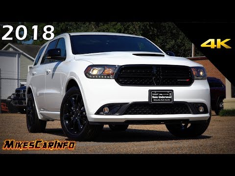 2018 Dodge Durango GT Blacktop - Ultimate In-Depth Look in 4K