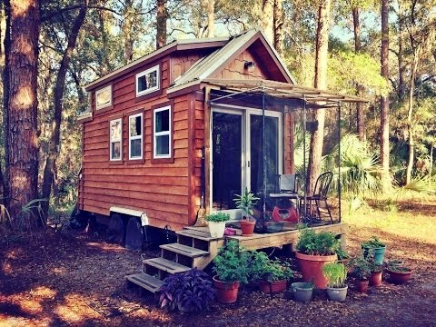 Florida Tiny House With Removable Porch For Sale YouTube