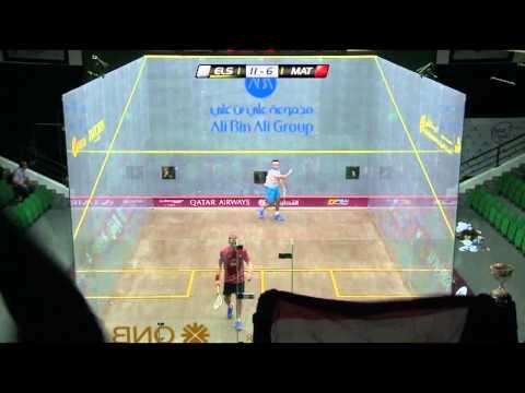 Squash : Qatar Classic 2013 - Final Roundup - Matthew v Elshorbagy