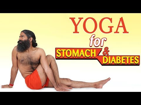 Yoga for Stomach & Diabetes | Swami Ramdev