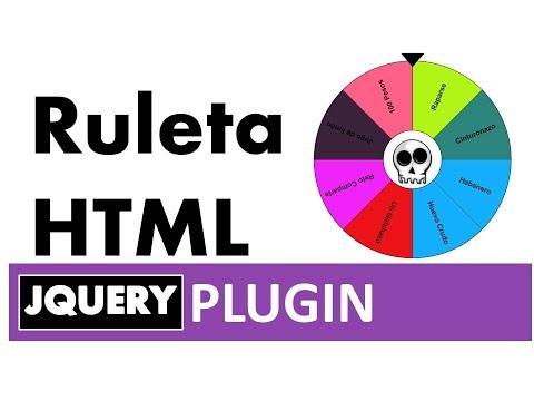 Ruleta En HTML (fácil, Simple Y Efectivo)