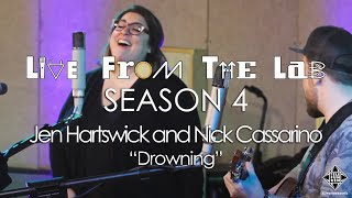 """Jen Hartswick and Nick Cassarino - """"Drowning"""" (TELEFUNKEN Live From The Lab)"""