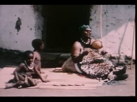 South Africa Zulu lullaby with musical bow