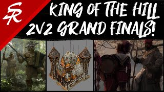 2v2 King of the Hill Grand Finals! | LIVE COMMENTARY | Age of Empires III