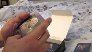 Game of Thrones Season 2 trading card unboxing