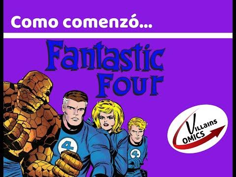 Como comenzó - Los Cuatro Fantásticos