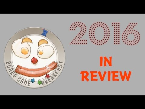 Board Game Breakfast - 2016 in Review