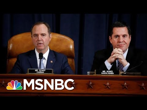 House Intelligence Committee Releases Impeachment Report | Velshi & Ruhle | MSNBC
