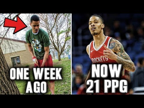 The Crazy Story Of Gerald Green | One Week Ago Jobless Now Dominating The NBA