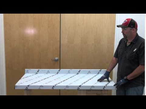 How to Make Zinc Counter-tops  Part 2