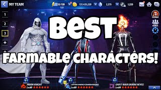 BEST FARMABLE CHARACTERS FOR NEW PLAYERS !!! | Marvel Future Fight