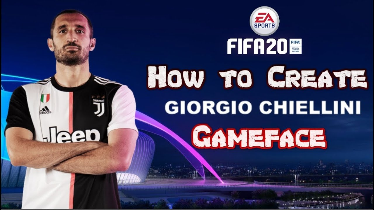 FIFA 20 - How to Create Giorgio Chiellini - Pro Clubs