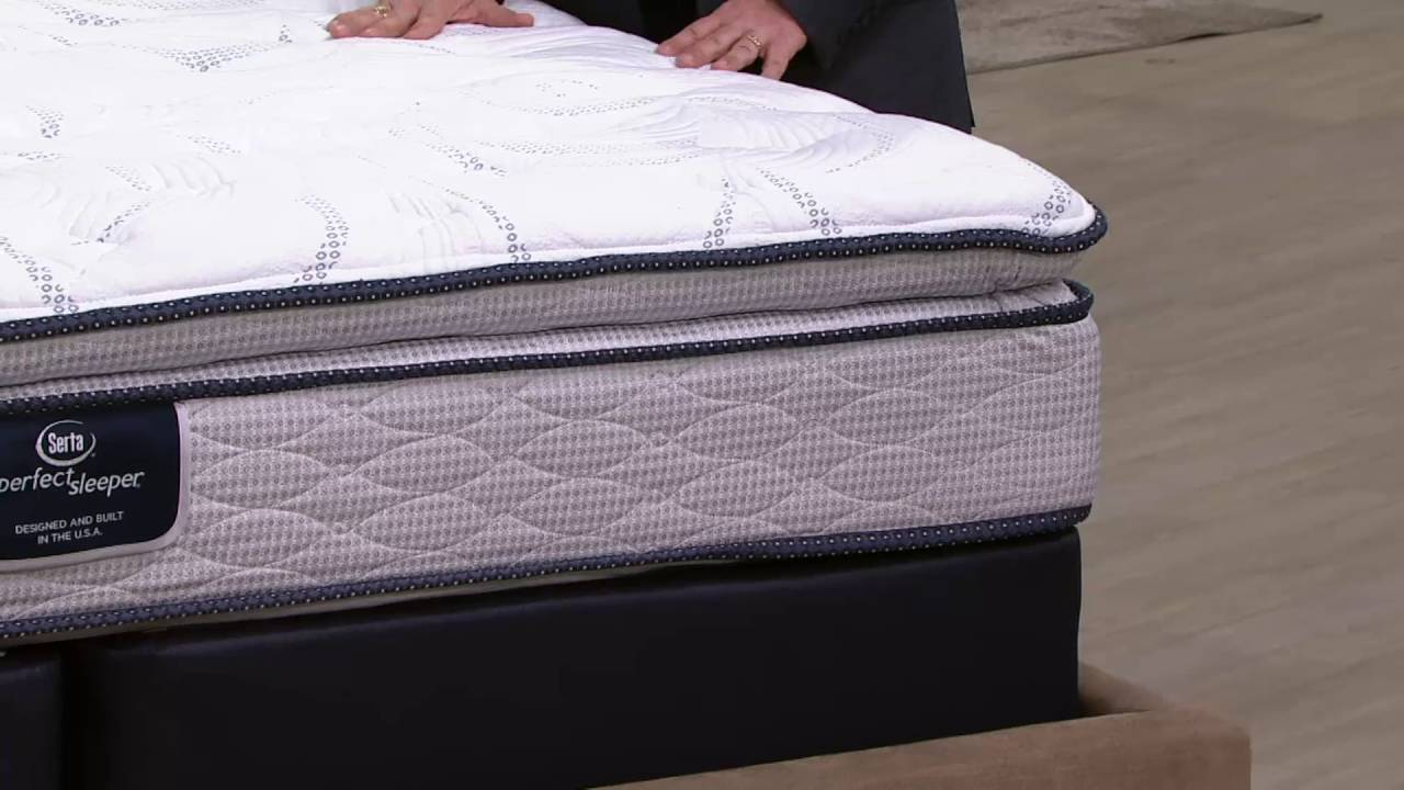 Serta Perfect Sleeper Transpire Pillowtop Mattress Set On Qvc Youtube