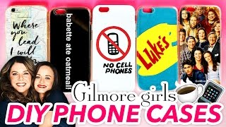 5 DIY Gilmore Girls Phone Cases ~ Cute & Easy | @karenkavett(SHARE THIS VIDEO ON FACEBOOK: http://facebook.com/karenkavett Subscribe for more DIY videos: http://bit.ly/karen-kavett Check out my graphic design ..., 2016-11-18T18:00:01.000Z)