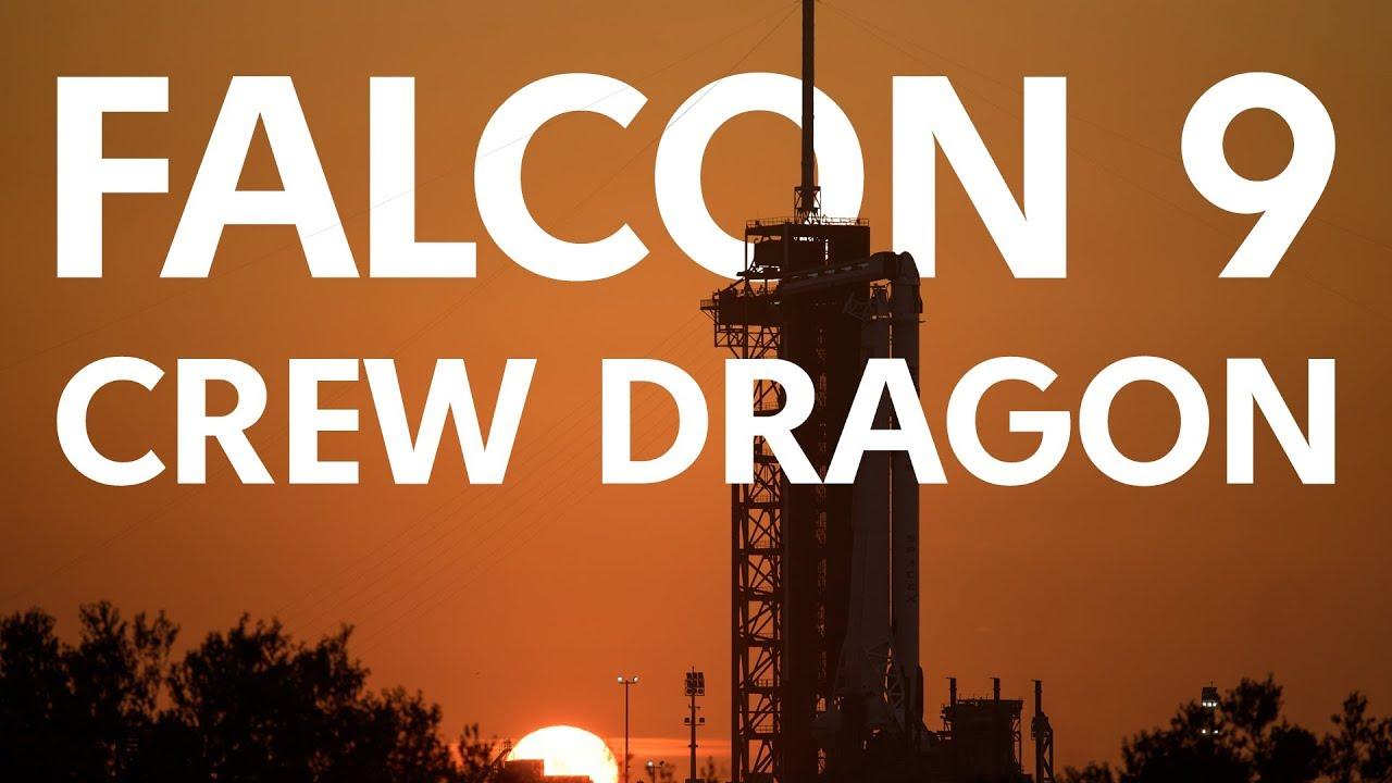 SpaceX Crew Dragon | Трансляция первого пилотируемого пуска