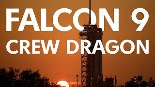 SpaceX Crew Dragon   Трансляция первого пилотируемого пуска
